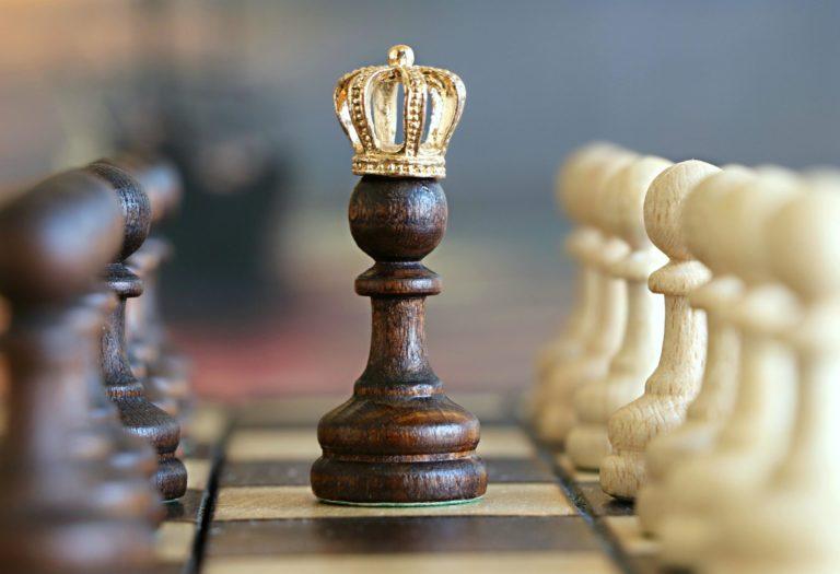 krolowka na szachownicy